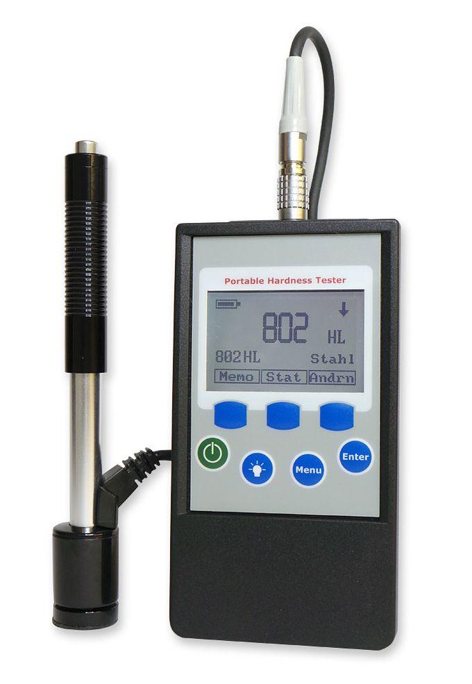 Härteprüfgerät HardyTest D400 von SaluTron mit externem Schlaggerät Typ D