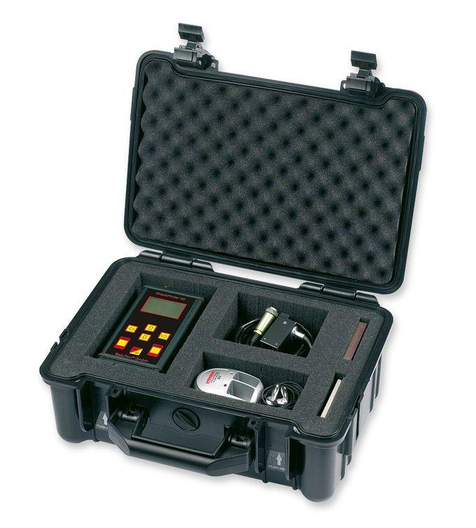 Crack measuring gauge CrackFinder X5 - Service case