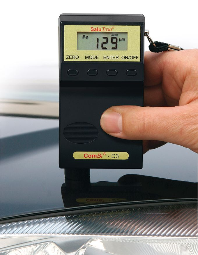 Coating thickness gauge ComBi D3